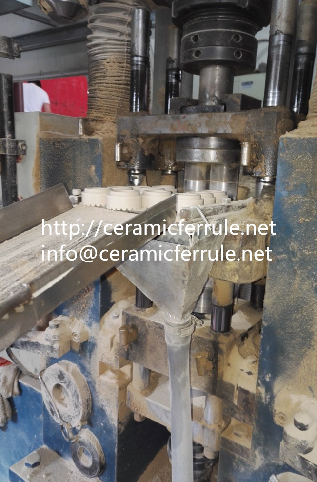 ceramic ferrule die press machine