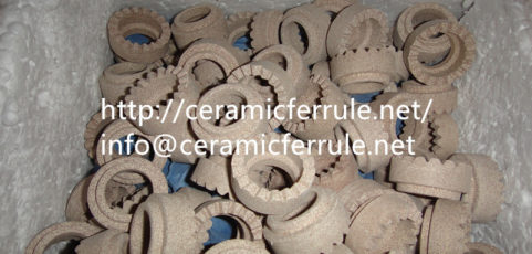 Basic technical indexes of ceramic ferrules